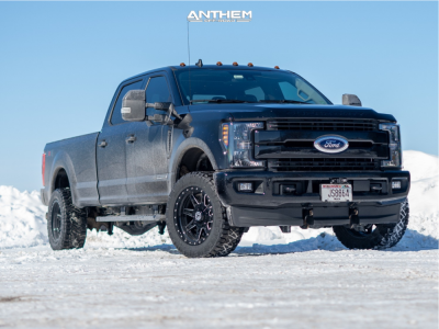 """2020 Ford F-350 Super Duty - 20x10 -18mm - Anthem Off-Road Rogue - Stock Suspension - 33"""" x 12.5"""""""
