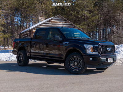 "2020 Ford F-150 - 20x10 -18mm - Anthem Off-Road Avenger - Stock Suspension - 33"" x 12.5"""
