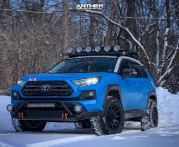 "2019 Toyota RAV4 - 17x9 0mm - Anthem Off-Road Liberty - Suspension Lift 3.5"" - 275/65R17"