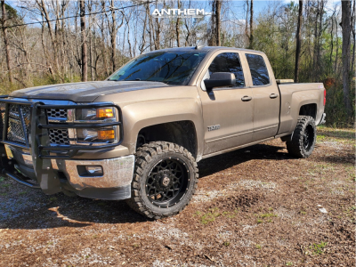 "2015 Chevrolet Silverado 1500 - 20x10 -18mm - Anthem Off-Road Avenger - Suspension Lift 3.5"" - 33"" x 12.5"""