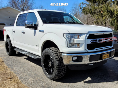 "2016 Ford F-150 - 20x10 -24mm - Anthem Off-Road Equalizer - Leveling Kit - 33"" x 12.5"""