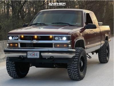 """1998 Chevrolet K1500 - 19x9 0mm - Anthem Off-Road Equalizer - Suspension Lift 6"""" - 35"""" x 12.5"""""""