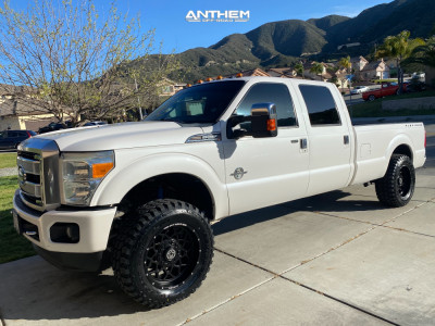 "2013 Ford F-250 Super Duty - 20x10 -12mm - Anthem Off-Road Avenger - Suspension Lift 2.5"" - 35"" x 12.5"""