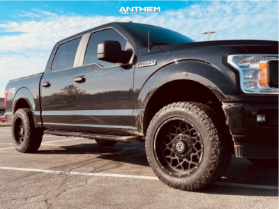 "2018 Ford F-150 - 20x10 -18mm - Anthem Off-Road Avenger - Stock Suspension - 33"" x 10.5"""