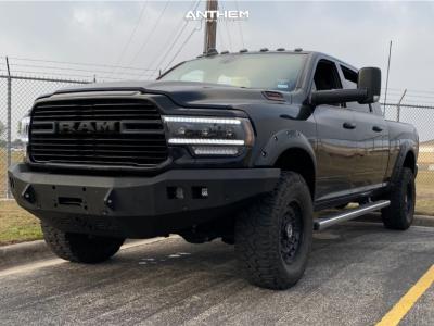 "2019 Ram 2500 - 18x9 0mm - Anthem Off-Road Viper - Stock Suspension - 35"" x 12.5"""
