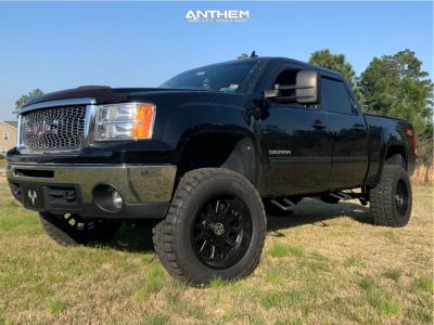 "2012 GMC Sierra 1500 - 20x10 -24mm - Anthem Off-Road Intimidator - Suspension Lift 6"" - 35"" x 12.5"""