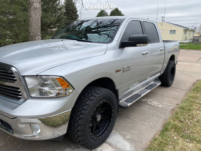 "2014 Ram 1500 - 20x10 -18mm - Anthem Off-Road Rogue - Leveling Kit - 33"" x 12.5"""