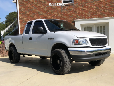 "2003 Ford F-150 - 20x12 -44mm - Anthem Off-Road Equalizer - Suspension Lift 3"" - 33"" x 12.5"""