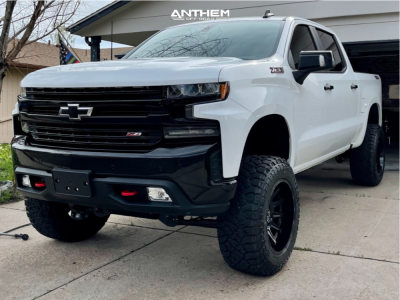 "2021 Chevrolet Silverado 1500 - 20x12 -44mm - Anthem Off-Road Liberty - Suspension Lift 6"" - 35"" x 12.5"""