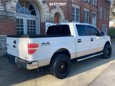 "2012 Ford F-150 - 20x10 -18mm - Anthem Off-Road Avenger - Leveling Kit - 33"" x 12.5"""