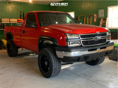 "2006 Chevrolet Silverado 1500 - 20x10 -24mm - Anthem Off-Road Equalizer - Suspension Lift 6"" - 33"" x 11.5"""