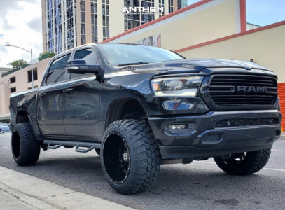 "2019 Ram 1500 - 22x14 -76mm - Anthem Off-Road Equalizer - Suspension Lift 6.5"" - 35"" x 12.5"""