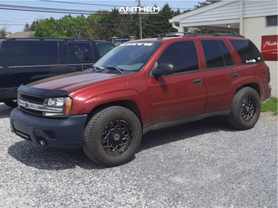 "2006 Chevrolet Trailblazer - 17x9 0mm - Anthem Off-Road Avenger - Stock Suspension - 32"" x 11.5"""