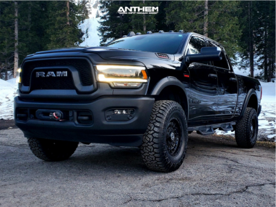 "2020 Ram 2500 - 17x8.5 0mm - Anthem Off-Road Viper - Stock Suspension - 35"" x 12.5"""