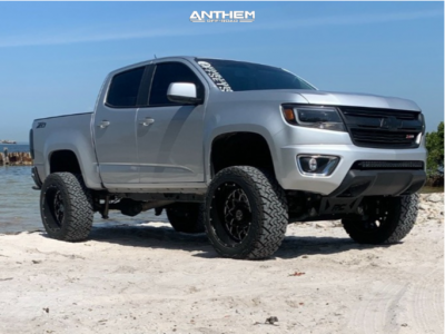 "2020 Chevrolet Colorado - 20x12 -44mm - Anthem Off-Road Avenger - Suspension Lift 6"" - 33"" x 12.5"""