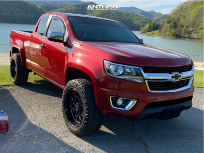 "2015 Chevrolet Colorado - 20x10 -18mm - Anthem Off-Road Avenger - Leveling Kit - 32"" x 10.5"""