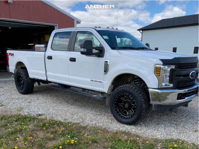 "2018 Ford F-250 Super Duty - 20x10 -18mm - Anthem Off-Road Rogue - Leveling Kit - 35"" x 12.5"""