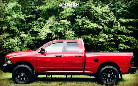 "2013 Ram 1500 - 20x12 76.2mm - Anthem Off-Road Avenger - Suspension Lift 2.5"" - 35"" x 12.5"""