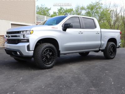 2021 Chevrolet Silverado 1500 - 20x9 0mm - Anthem Off-Road Rogue - Leveling Kit - 275/65R20