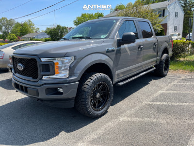 """2018 Ford F-150 - 20x10 -18mm - Anthem Off-Road Rogue - Leveling Kit - 33"""" x 12.5"""""""