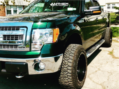 """2013 Ford F-150 - 20x12 -44mm - Anthem Off-Road Rogue - Leveling Kit - 33"""" x 12.5"""""""