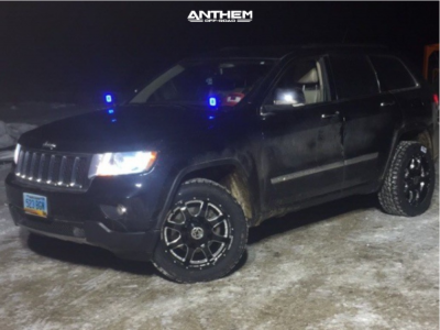 2011 Jeep Grand Cherokee - 20x9 0mm - Anthem Off-Road Commander - Stock Suspension - 265/55R20