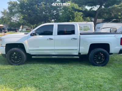 "2017 Chevrolet Silverado 1500 - 20x10 -24mm - Anthem Off-Road Equalizer - Suspension Lift 3"" - 30"" x 10.5"""