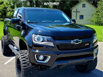 "2018 Chevrolet Colorado - 20x12 -44mm - Anthem Off-Road Equalizer - Suspension Lift 6"" - 375/45R20"