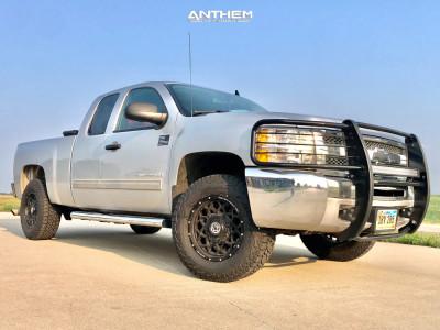 2013 Chevrolet Silverado - 18x9 18mm - Anthem Off-Road Avenger - Leveling Kit - 275/70R18