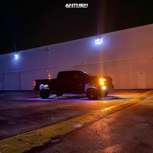 "2019 Chevrolet Silverado 2500 HD - 20x10 -18mm - Anthem Off-Road Liberty - Level 2"" Drop Rear - 35"" x 12.5"""