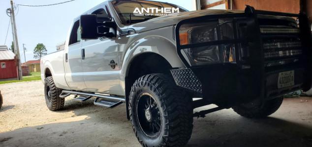 "2012 Ford F-350 Super Duty - 18x9 0mm - Anthem Off-Road Equalizer - Leveling Kit - 35"" x 12.5"""