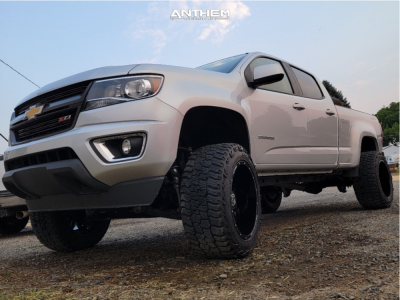 "2015 Chevrolet Colorado - 20x12 -44mm - Anthem Off-Road Equalizer - Suspension Lift 6"" - 33"" x 12.5"""