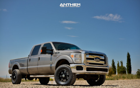 """2012 Ford F-350 Super Duty - 18x9 -12mm - Anthem Off-Road Equalizer - Stock Suspension - 35"""" x 12.5"""""""