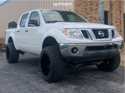 "2010 Nissan Frontier - 20x12 -44mm - Anthem Off-Road Equalizer - Suspension Lift 6"" - 32"" x 12.5"""