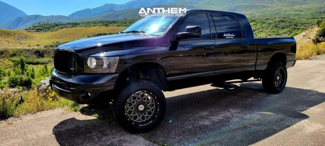"2006 Dodge Ram 2500 - 20x10 -24mm - Anthem Off-Road Avenger - Leveling Kit - 33"" x 20"""