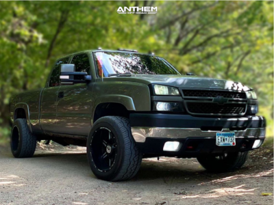 "2006 Chevrolet Silverado 2500 HD - 20x12 -44mm - Anthem Off-Road Equalizer - Stock Suspension - 33"" x 12.5"""