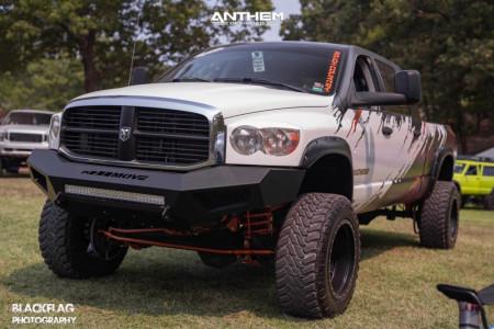 "2007 Dodge Ram 2500 - 20x12 -44mm - Anthem Off-Road Rogue - Suspension Lift 5"" - 35"" x 12.5"""