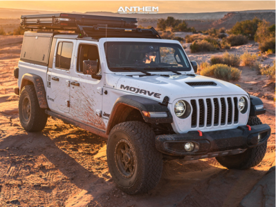 2021 Jeep Gladiator - 17x8.5 0mm - Anthem Off-Road Rogue - Stock Suspension - 315/70R17