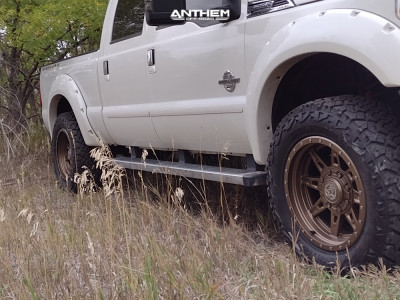 """2015 Ford F-350 Super Duty - 20x10 18mm - Anthem Off-Road Rogue - Stock Suspension - 35"""" x 12.5"""""""