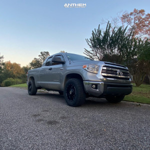 """2016 Toyota Tundra - 18x9 0mm - Anthem Off-Road Equalizer - Stock Suspension - 27"""" x 18.5"""""""