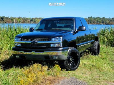"2005 Chevrolet Silverado 1500 - 20x12 -44mm - Anthem Off-Road Equalizer - Leveling Kit - 33"" x 12.5"""