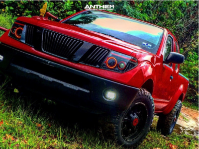 """2006 Nissan Frontier - 18x9 -12mm - Anthem Off-Road A732 - Suspension Lift 3"""" - 33"""" x 11.5"""""""