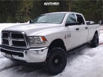 2013 Ram 2500 - 17x9 -12mm - Anthem Off-Road Enforcer - Leveling Kit - 285/70R17