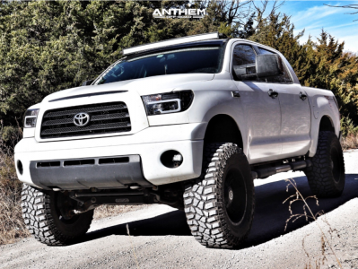 "2009 Toyota Tundra - 20x10 -24mm - Anthem Off-Road Aviator - Suspension Lift 8"" - 38"" x 13.5"""