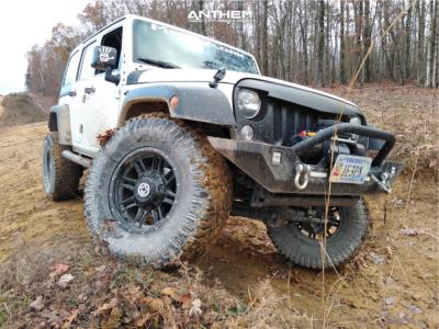"2015 Jeep Wrangler JK - 17x9 -12mm - Anthem Off-Road Instigator - Suspension Lift 3.5"" - 35"" x 12.5"""