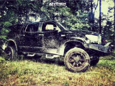 "2008 Toyota Tundra - 20x10 -24mm - Anthem Off-Road Defender - Suspension Lift 7"" - 35"" x 12.5"""