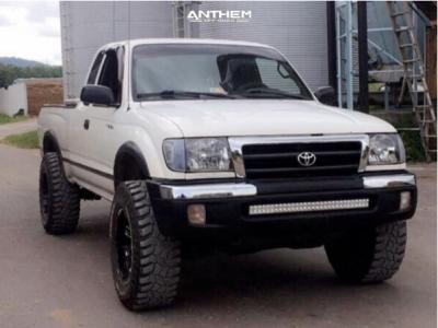 1999 Toyota Tacoma - 17x9 -12mm - Anthem Off-Road Enforcer - Leveling Kit - 265/70R17