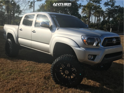 """2013 Toyota Tacoma - 20x12 -44mm - Anthem Off-Road Equalizer - Suspension Lift 7"""" - 33"""" x 12.5"""""""
