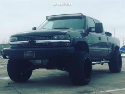 "1999 Chevrolet Silverado 1500 - 22x14 -76mm - Anthem Off-Road Equalizer - Suspension Lift 6"" - 35"" x 13.5"""