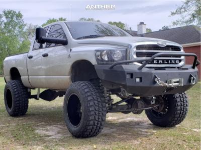 """2008 Dodge Ram 2500 - 22x14 -76mm - Anthem Off-Road Equalizer - Suspension Lift 10"""" - 40"""" x 15.5"""""""